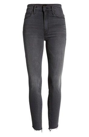 MOTHER The Stunner Ankle Step Fray Jeans (Lighting Up Lanterns) (Nordstrom Exclusive)   Nordstrom