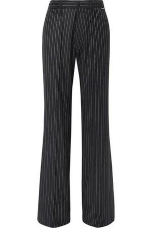 Balenciaga   Pinstriped wool and cashmere-blend pants   NET-A-PORTER.COM