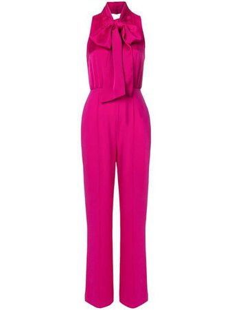 Dvf Diane Von Furstenberg neck-tied sleeveless jumpsuit $600 - Shop SS19 Online - Fast Delivery, Price