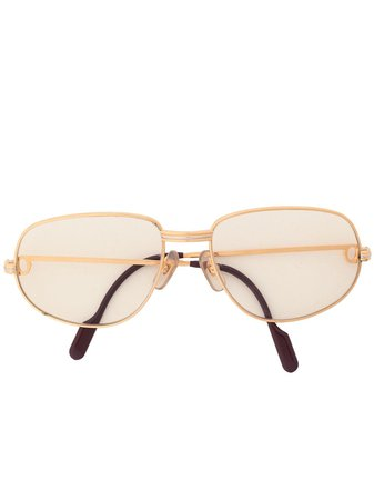 Cartier Double Bridge Reading Glasses Vintage | Farfetch.com