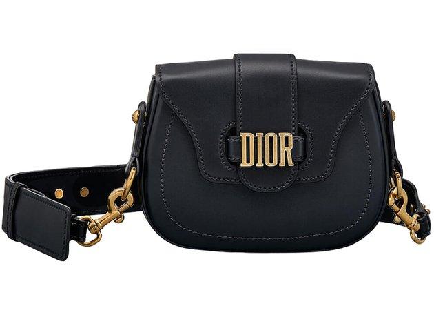 Dior D Fence Shoulder Bag Black