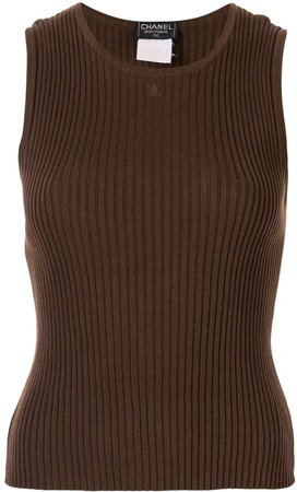Pre-Owned 1998 sleeveless knit top