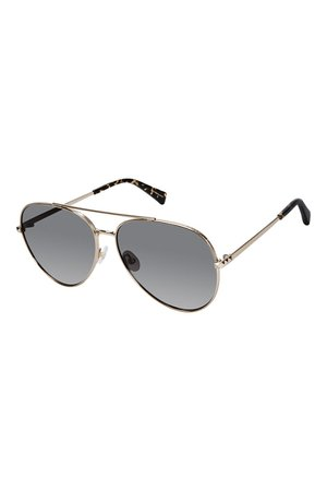 Women's Gold Aviators | Stevie Aviator Sunglasses | Rebecca Minkoff