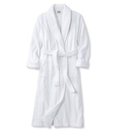White Spa Robe