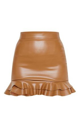 PLT brown skirt