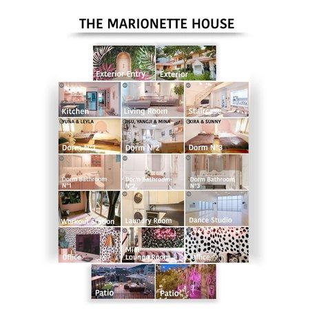 THE MARIONETTE HOUSE/DORM TOUR