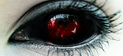 tokyo ghoul contact lense