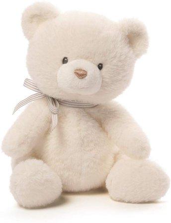 """Amazon.com: Baby GUND Oh So Soft Teddy Bear Stuffed Animal Plush, Cream, 12"""": Gateway"""
