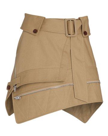 Alexander Wang Deconstructed Trench Mini Skirt | INTERMIX®