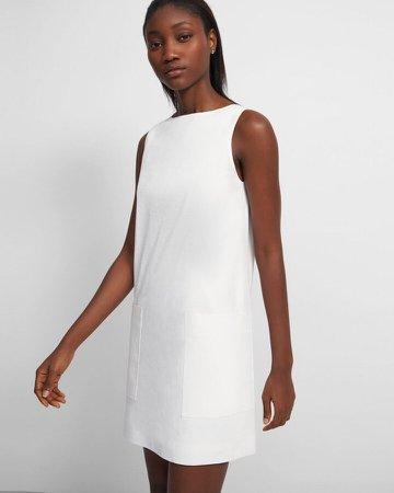 Mod Shift Dress in Good Linen