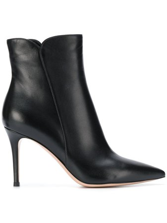Gianvito Rossi pointed ankle boots - FARFETCH