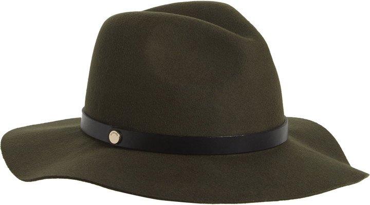 Long Brim Fedora Hat