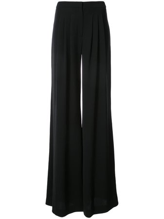 Carolina Herrera, Black Long Flared Pants