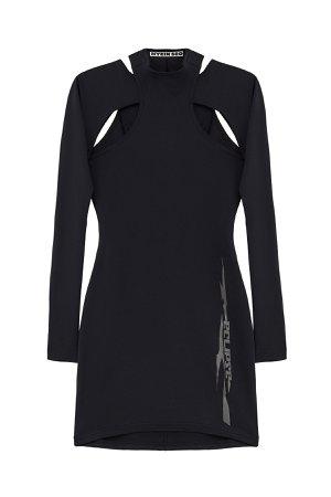 HYEIN SEO JERSEY DRESS W/ SLEEVES - KM20 Online Store