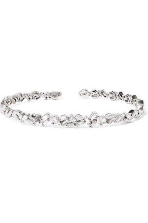 Suzanne Kalan   18-karat white gold diamond cuff   NET-A-PORTER.COM