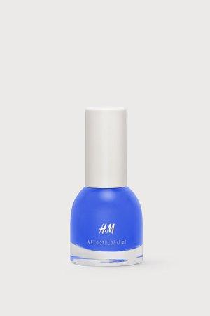 Nail polish - Blue