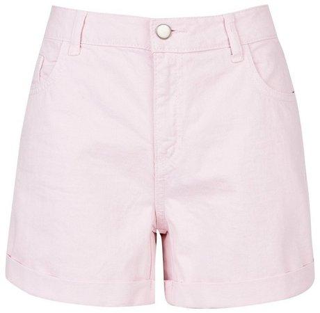Pale Pink Boy Denim Shorts