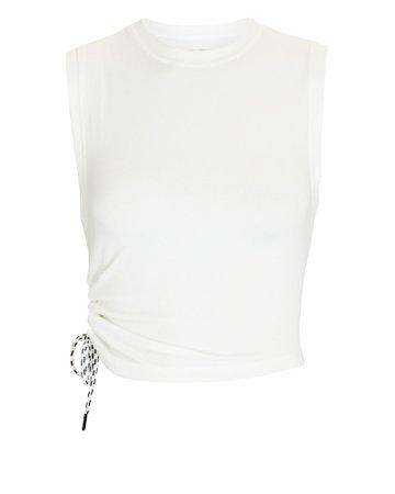 Splits59 Carmen Cropped Rib Knit Tank Top | INTERMIX®