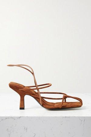 Monza Suede Sandals - Brown