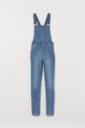 Denim Overalls - Denim blue - Ladies | H&M US