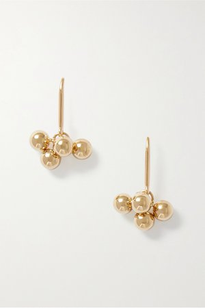 Gold Oh gold-tone earrings | Isabel Marant | NET-A-PORTER