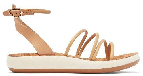 Euphemia Leather Sandals - Tan