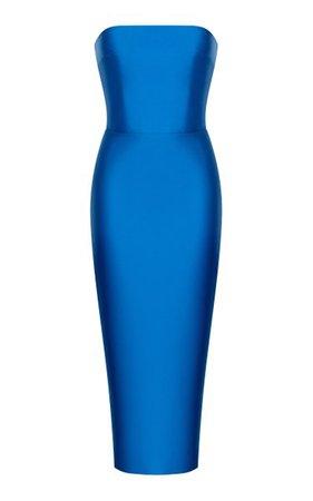 Satin Midi Dress By Rasario | Moda Operandi