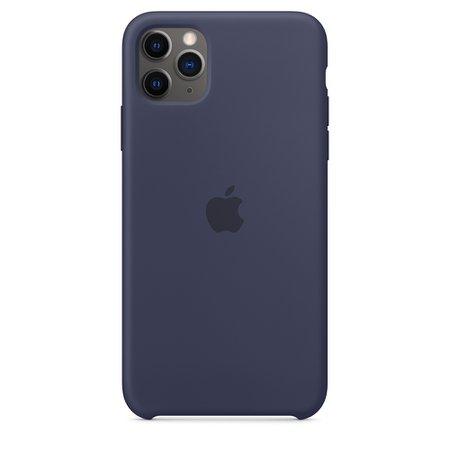 iPhone 11 Pro Max Silicone Case - Pomegranate - Apple