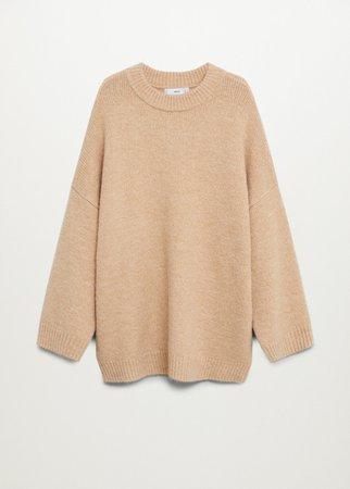 Oversize knit sweater - Women   Mango USA