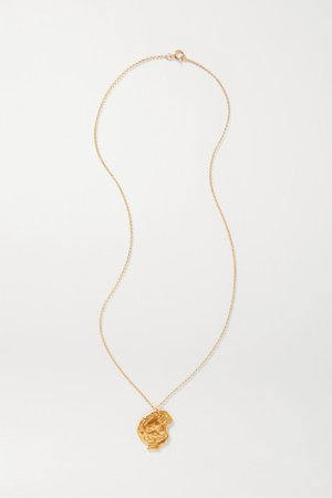 Alighieri | Year of the Rat gold-plated necklace | NET-A-PORTER.COM