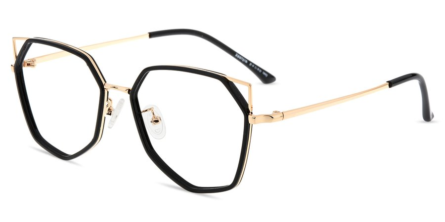 Women's full frame mixed material eyeglasses - S985X | Firmoo.com