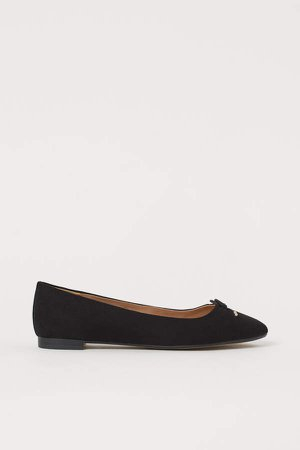 Ballet Flats - Black