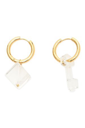 Timeless Pearly Mismatched Earrings