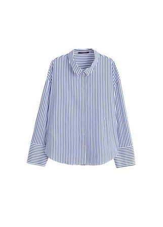 Violeta BY MANGO Cotton Oxford shirt