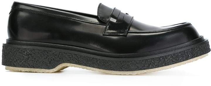Chunky Sole Penny Loafers