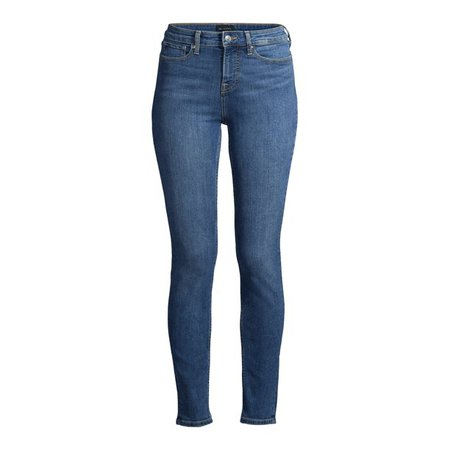 Free Assembly - Free Assembly Women's Essential High-Rise Skinny Jeans - Walmart.com - Walmart.com