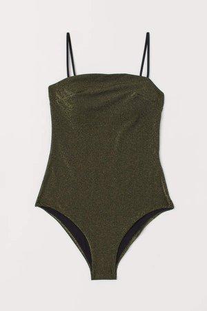 Glittery Swimsuit - Black