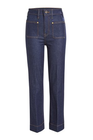 Raquel Cropped Flared Jeans Gr. 29