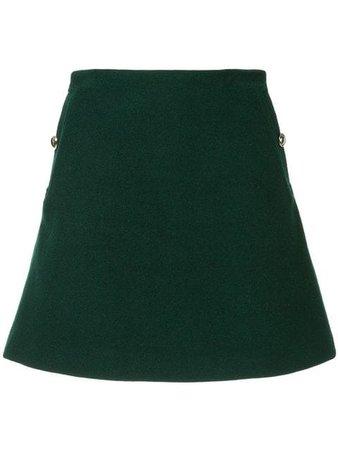 Macgraw Detector A-Line Skirt Z008G Green | Farfetch