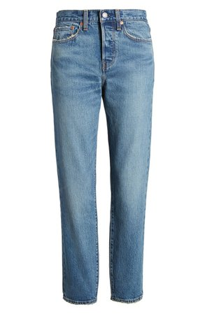 Wedgie Icon Fit High Waist Straight Leg Jeans | Nordstrom