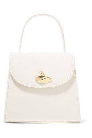 Little Liffner | Little Lady patent-leather tote | NET-A-PORTER.COM
