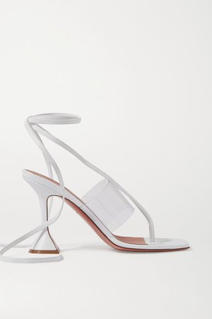 Zula Pvc And Leather Sandals - White
