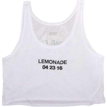 Lemonade Anniversary Crop Tank ($40)