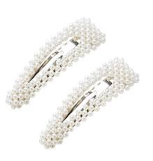2PCS Sweet Imitation Pearl Hair Clips Hairpin Simple Fashion Alloy BB Hairgrip Hair Accessories for Girls Women (Drop-shaped, Silver) https://www.amazon.com/dp/B07K217H7V/ref=cm_sw_r_cp_api_i_e69QCb4385AN1 - Google Search