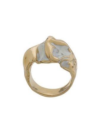 Marni Glazed Metal Ring