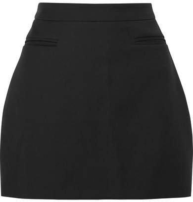 ANNA QUAN - Jessie Wool Mini Skirt - Black
