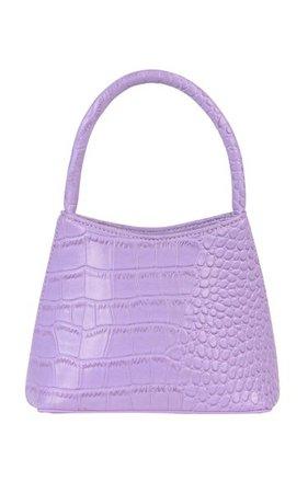 The Mini Chloe Croc-Effect Vegan Leather Top Handle Bag By Brie Leon | Moda Operandi