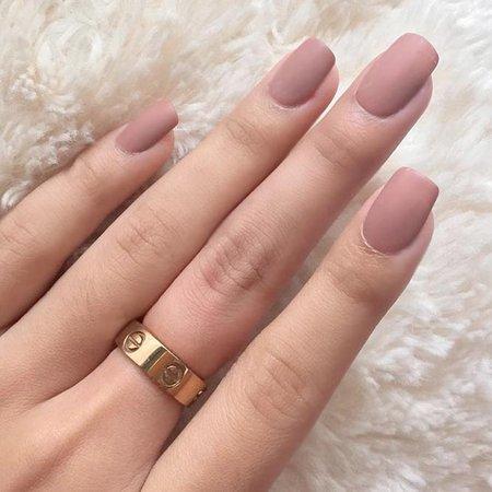 acrylic nails - pink