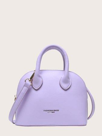 Double Handle Satchel Bag | SHEIN USA