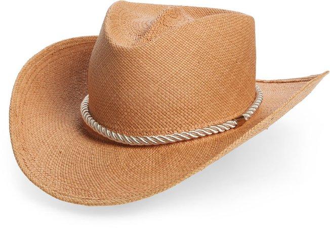 Zuma Straw Cowboy Hat